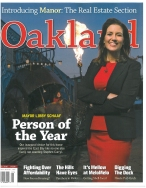 Oakland Magazine Cover